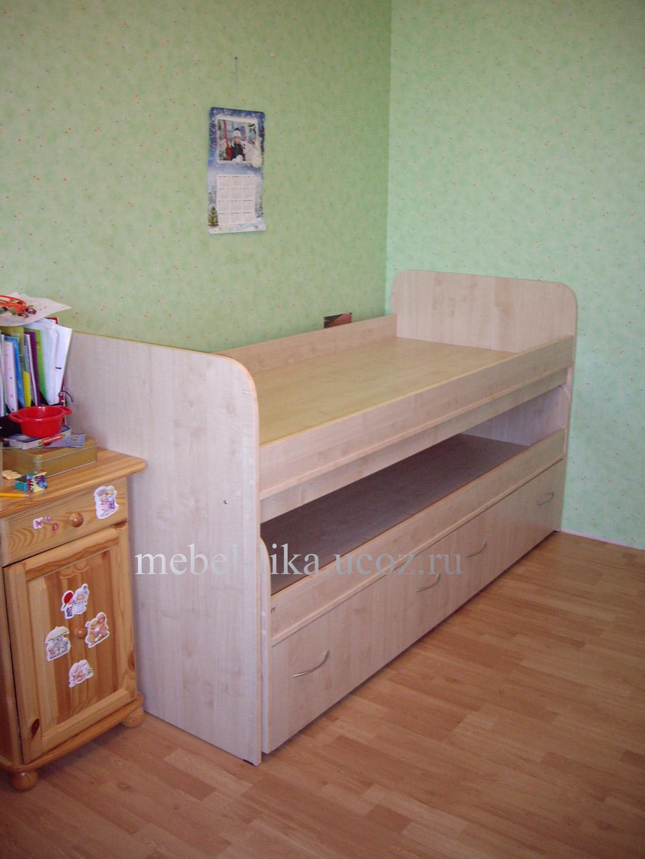 Детские кровати для двоих детей фото и цены